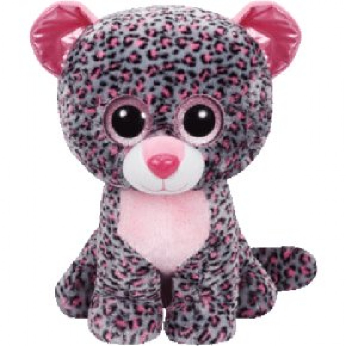 Beanie Boos Tasha the Pink/Grey Leopard Extra Large
