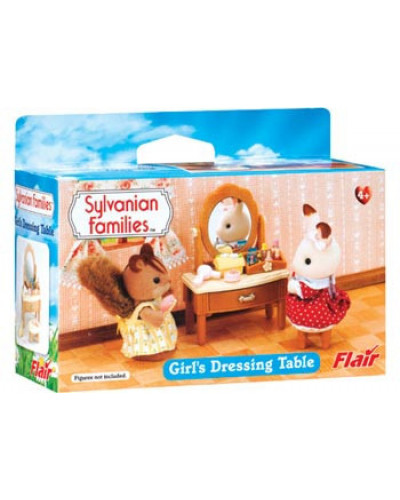 Sylvanian families girls dressing table for Sylvanian families beauty salon dressing table