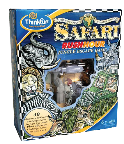 ThinkFun - Safari Rush Hour Game