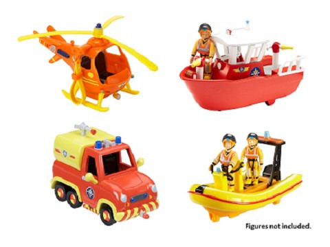 Fireman Sam Vehicle & Accessory Assortment