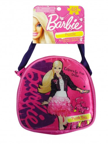 Barbie Carry & Go Mini Puzzle Purse