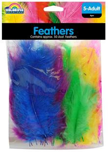 Feathers 50 Per Bag - Hang Sell