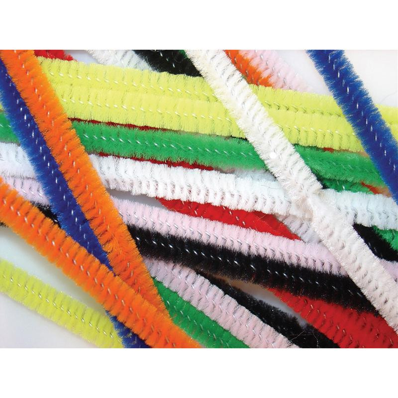 Stems 30cm x 12mm Assorted Colours 100 Per Bag