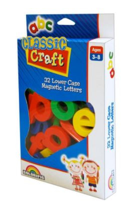 Classic Craft Chunky Magnets - Lower Case Letters