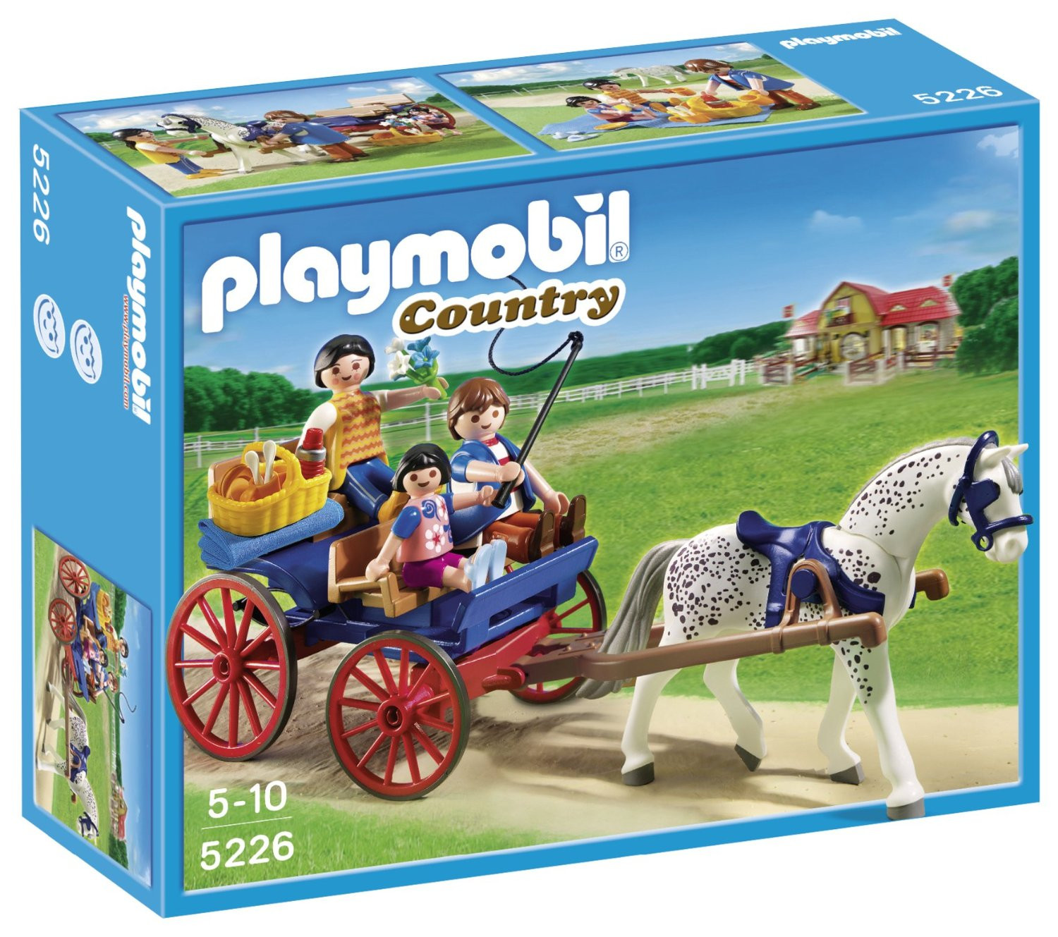 Playmobil Country Horse Drawn Carriage