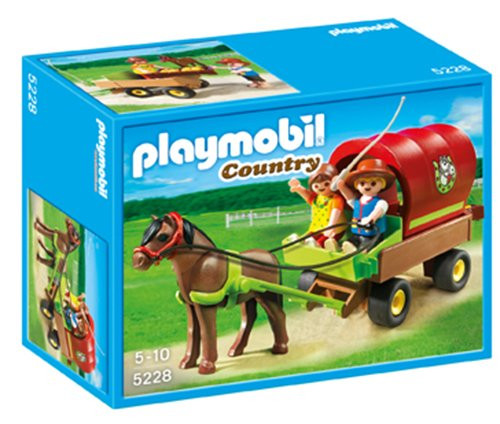 Playmobil Country Childrens Pony Wagon