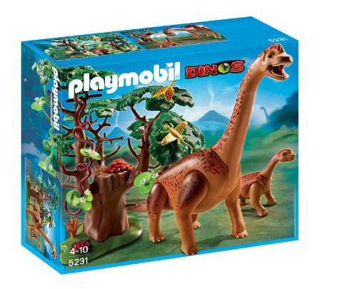 Playmobil Dinos Brachiosaurus with Baby