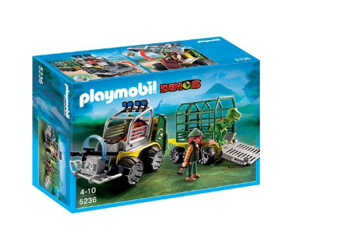 Playmobil Dinos Transport Vehicle With Baby T-Rex