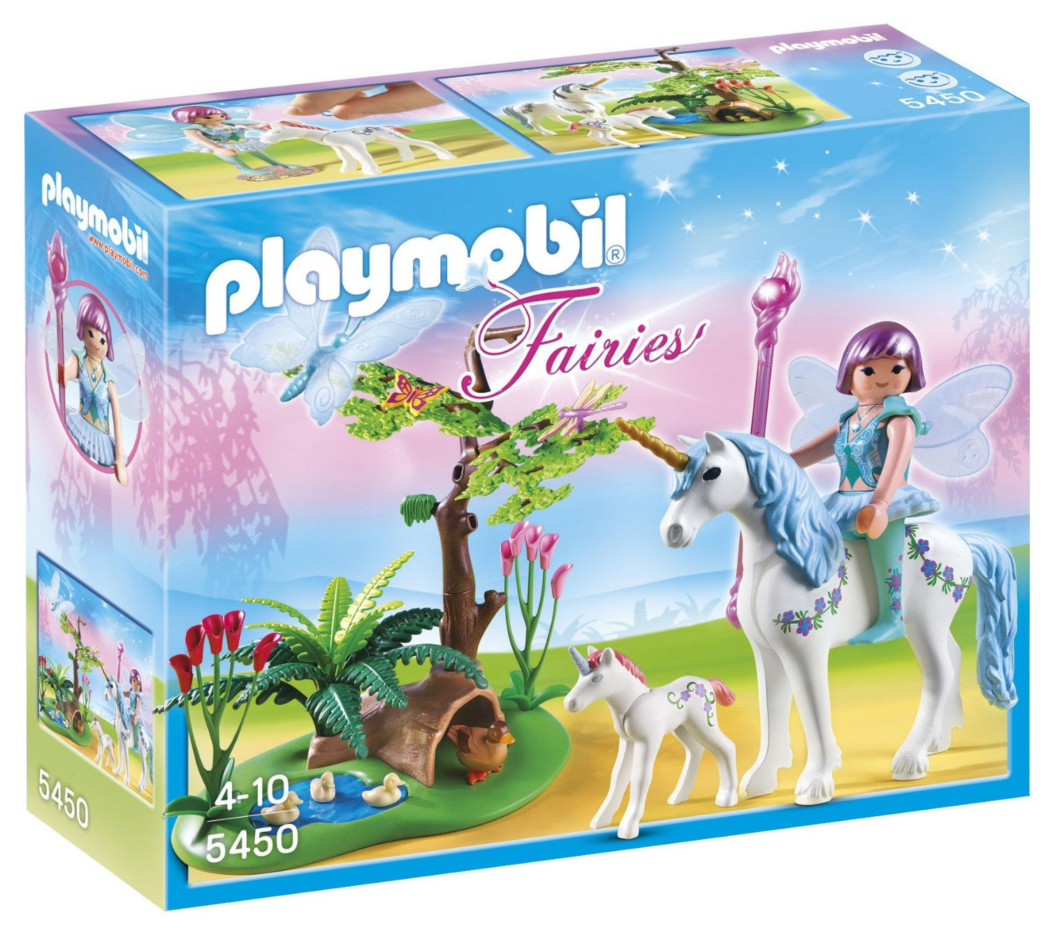 Playmobil Fairy Aquarella in the Unicorn Meadow