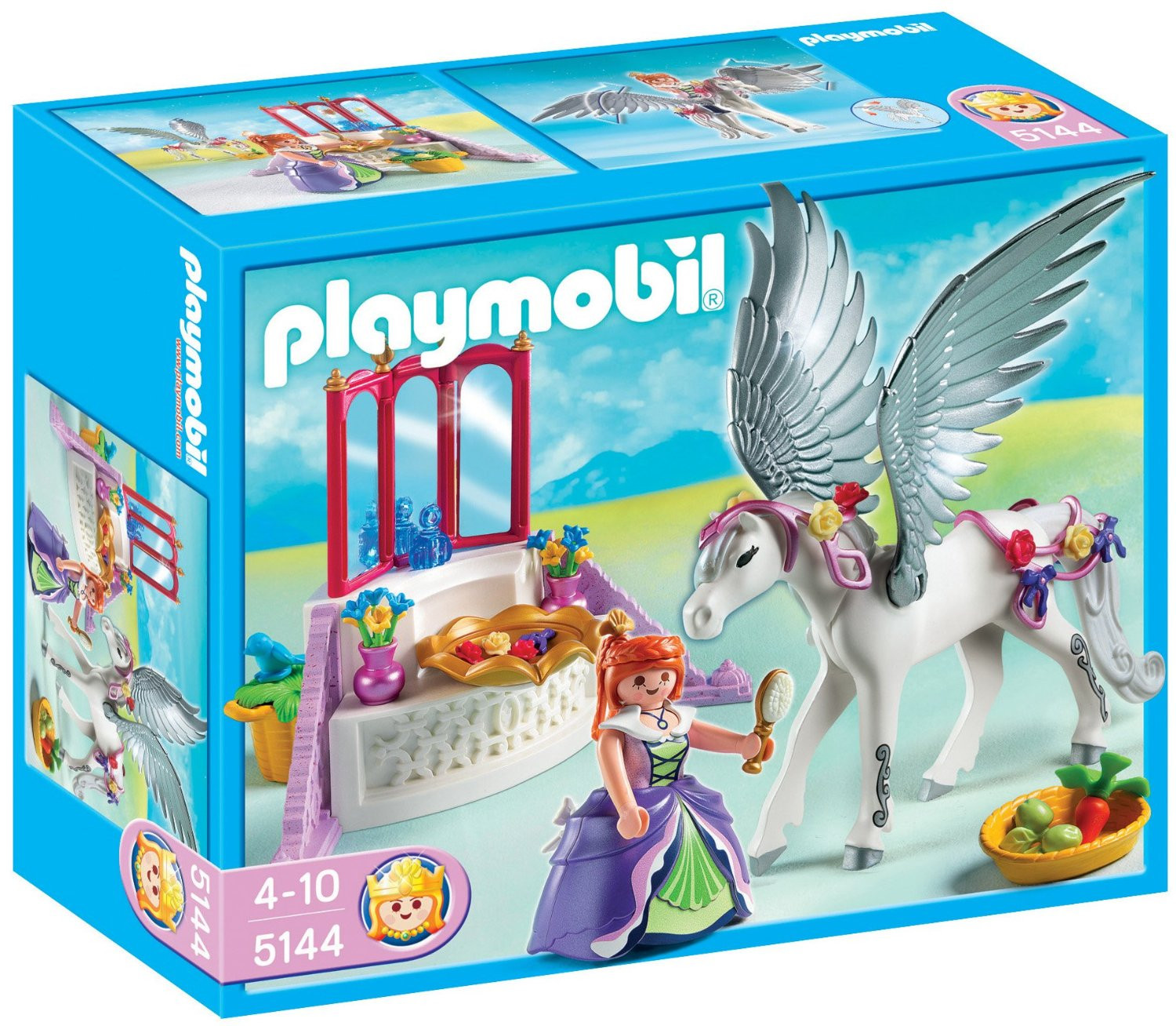 Playmobil Princess Pegasus with Vanity Station