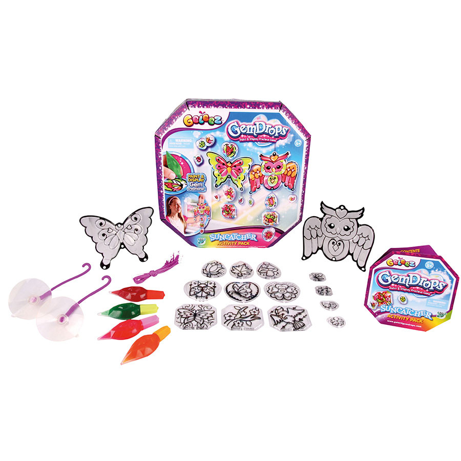 Geleez Gem Drops Suncatcher Activity Pack