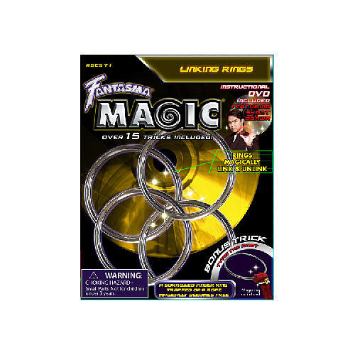 Theatrix Fantasma Linking Rings with DVD