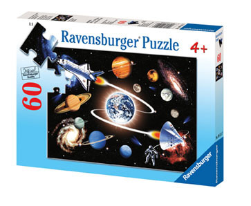 Ravensburger In the Galaxy Puzzle 60pc