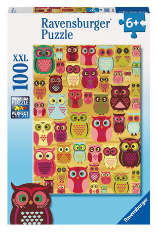 Ravensburger Fascinating Owls Puzzle 100pc