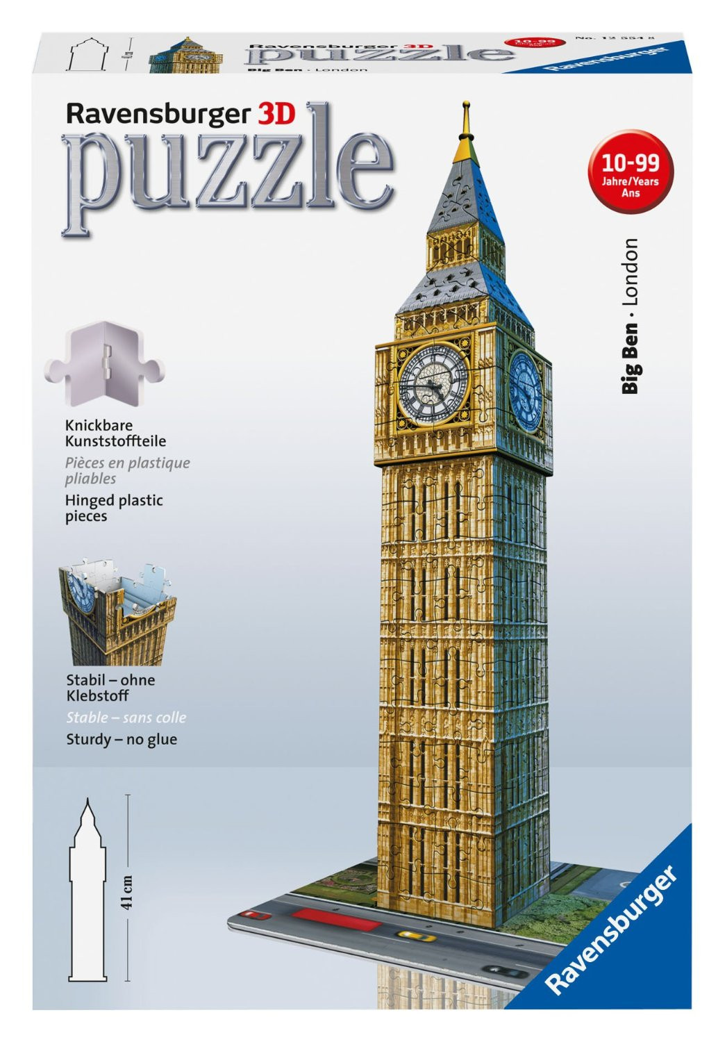 Ravensburger Big Ben 3D Puzzle 216pc
