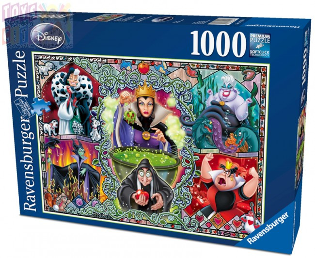Ravensburger Disney Wicked Women 1000pc