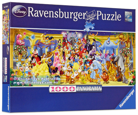 Ravensburger Disney Character Panoramic 1000pc