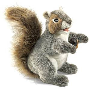 Folkmanis Grey Squirrel Puppet