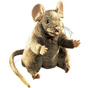 Folkmanis Brown Mouse Puppet