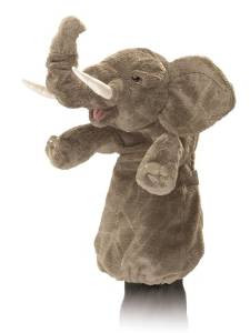 Folkmanis Elephant Stage Puppet