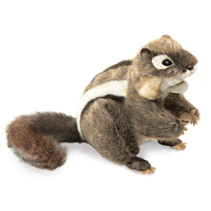 Folkmanis Chipmunk Eastern Puppet