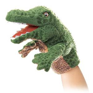 Folkmanis Little Alligator Puppet