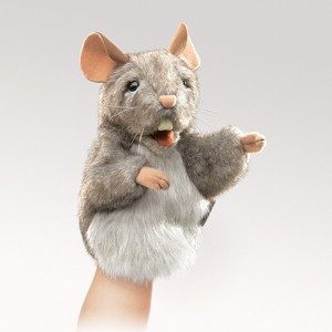 Folkmanis Little Mouse Puppet