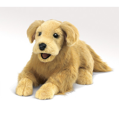 Folkmanis Golden Retriever Puppet