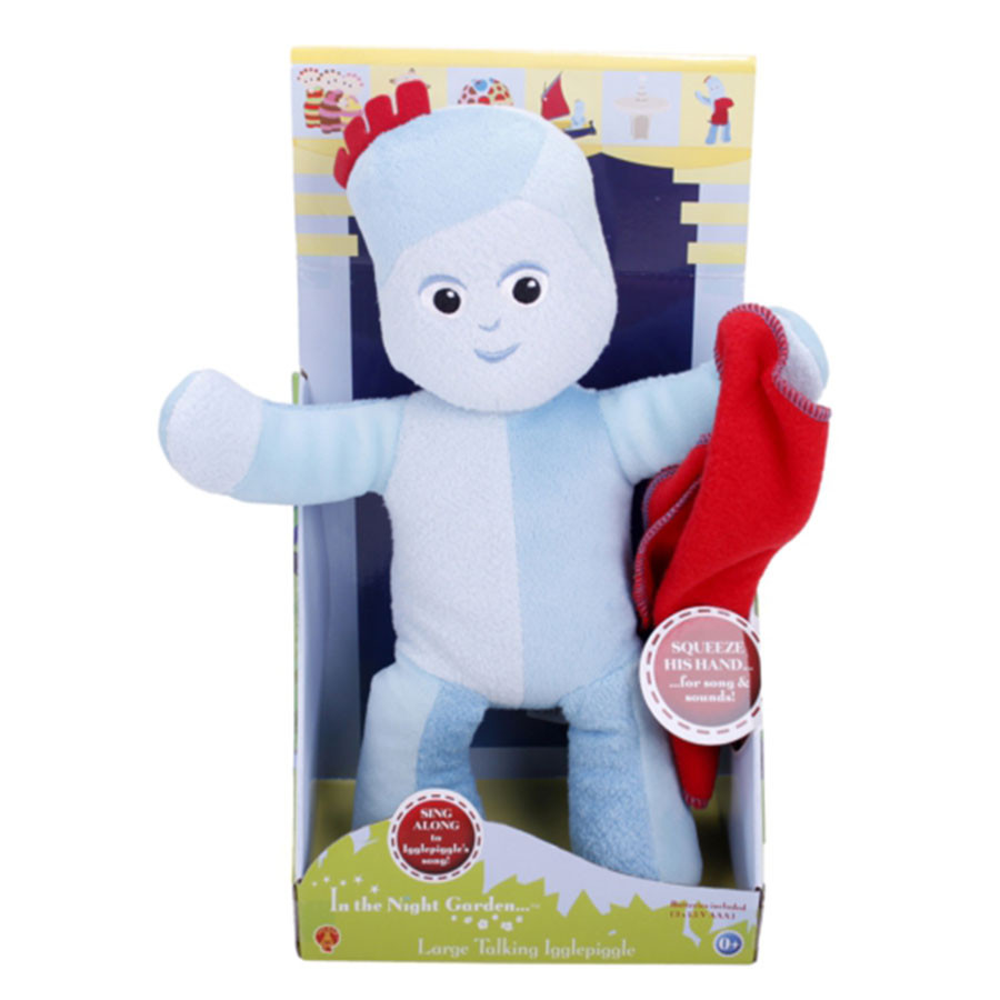 In The Night Garden Talking Igglepiggle Soft Toy 30cm (Boxed)