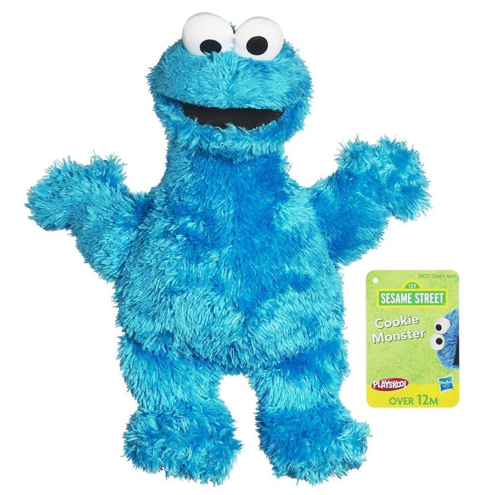 Sesame Street Cookie Monster Soft Toy 25cm