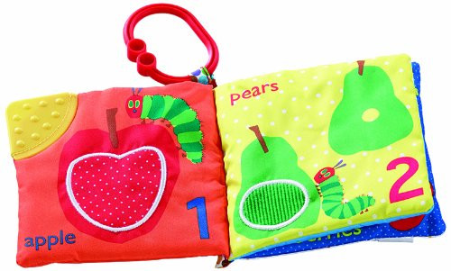 Very Hungry Caterpillar Clip-on Soft Book Lets Count