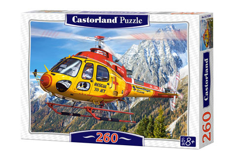 Castorland Helicopter Rescue Puzzle 260pc