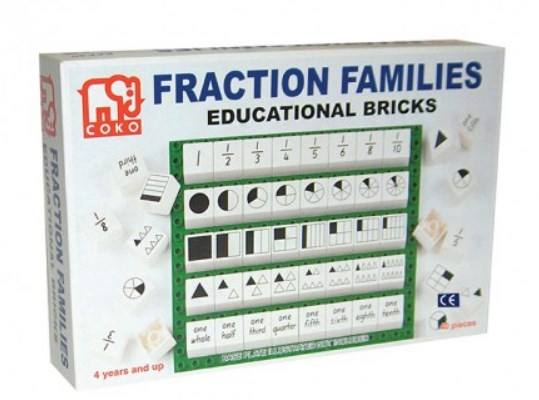 COKO Fraction Families incl. 40 Bricks