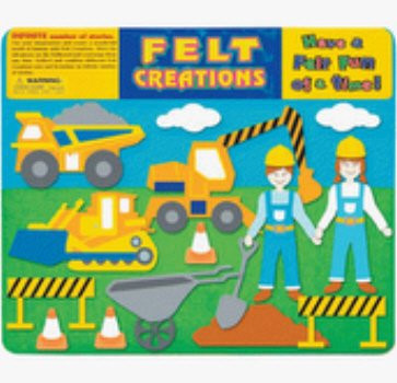 Construction Felt Creations