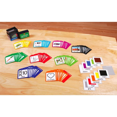WordWand Spanish Picture Cards