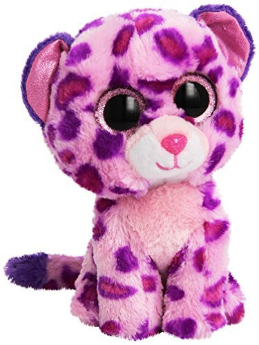 Beanie Boo Glamour the pink leopard
