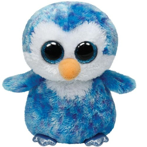 Beanie Boos Regular Icecube Blue Penguin
