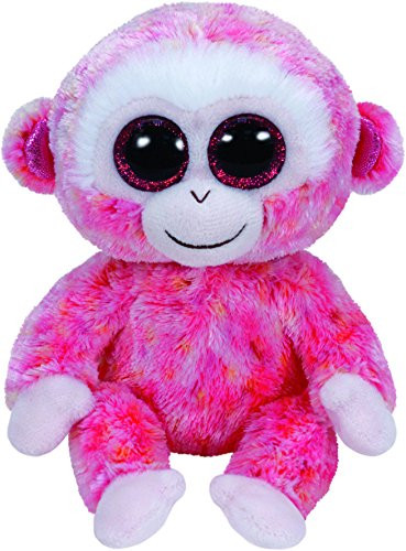 Beanie Boos Regular Monkey Red/White