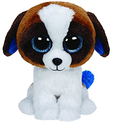 Beanie Boos Duke the Brown/White Dog (Medium)