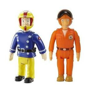Fireman Sam 2 Figure Blister Pack