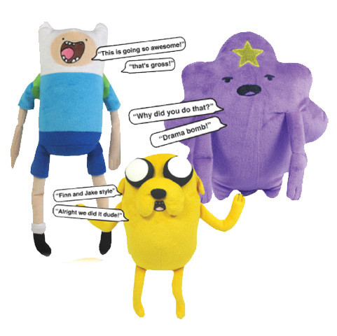 Adventure Time Pullstring Talking Plush