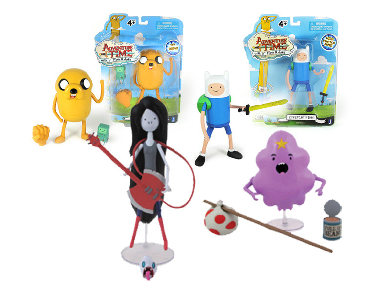Adventure Time 5 Collectible Figures
