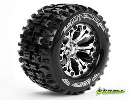 Louise RC MT-Pioneer Tyre On Chrome Rim 0 Offset