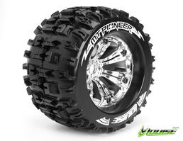 Louise RC MT-Pioneer 1/8 Monster Truck Tyre Chrome