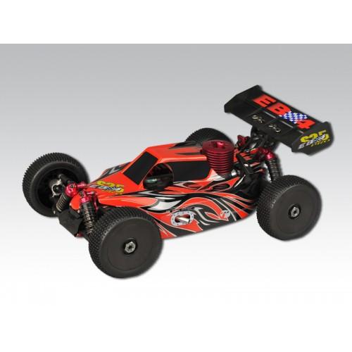 Thunder Tiger EB-4 2.5 Pro RTR Carbon Red