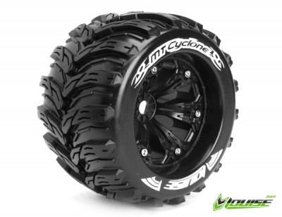 MT-Cyclone 1/8 Monster Truck Tyre Black