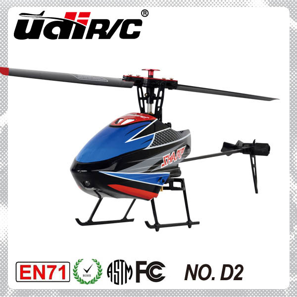 Udi R/C Mini heli 4ch with LCD model change radi