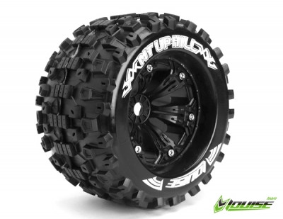 Louise RC MT-Uphill 1/8 Monster Truck Tyres Black