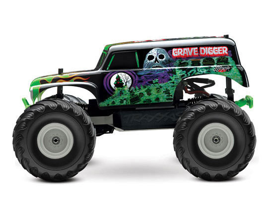 Traxxas Grave Digger with Back Pack