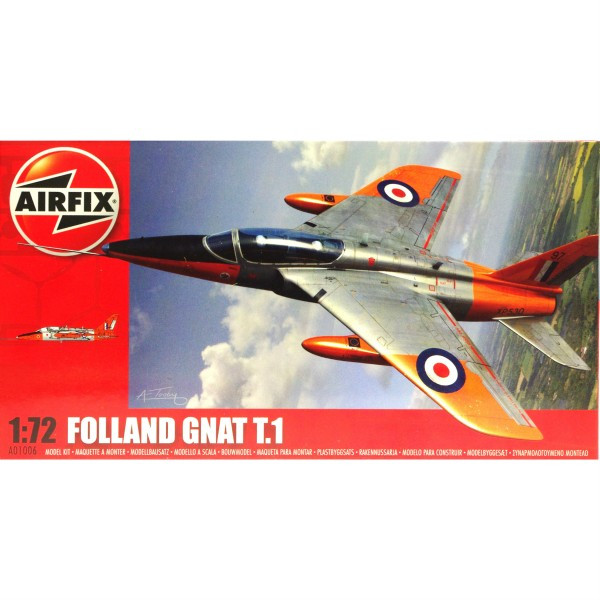 Airfix Folland Gnat 1:72